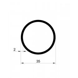 Rura okrągła 35x2